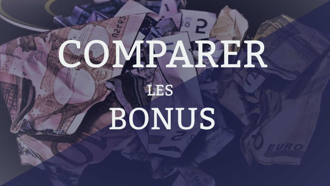 comparer les bonus