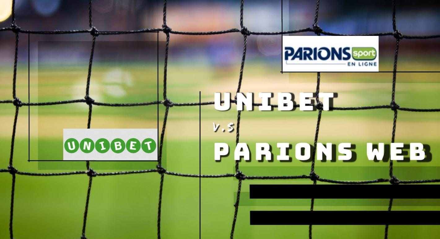 PARIONS WEB VS UNIBET