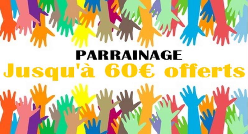 60 euros bonus parrainage feelingbet