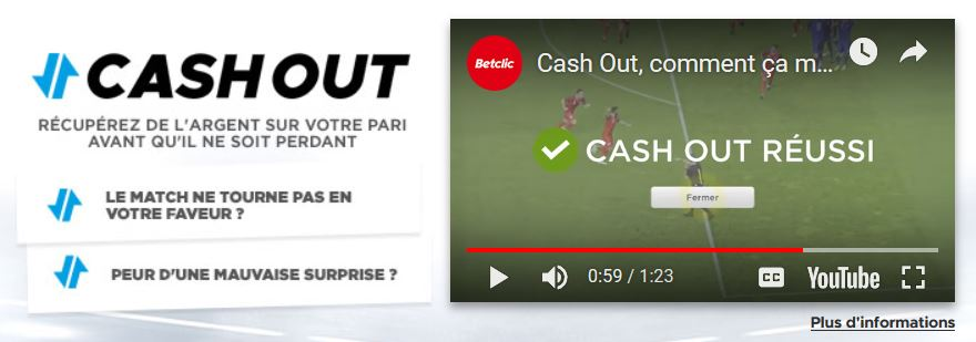 cash out betclic