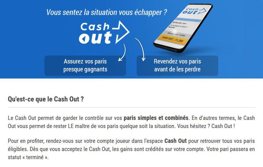 cashout france-pari