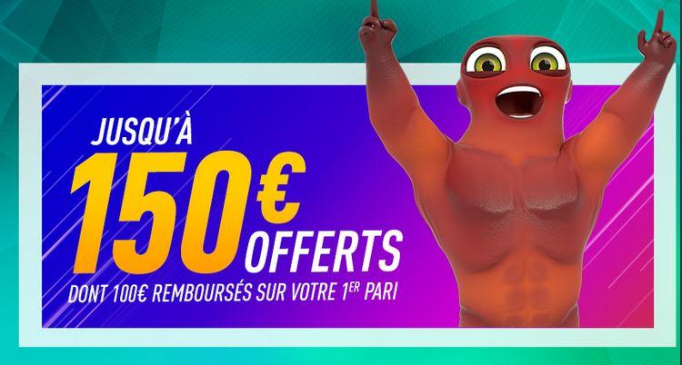 bonus 150 euros zebet