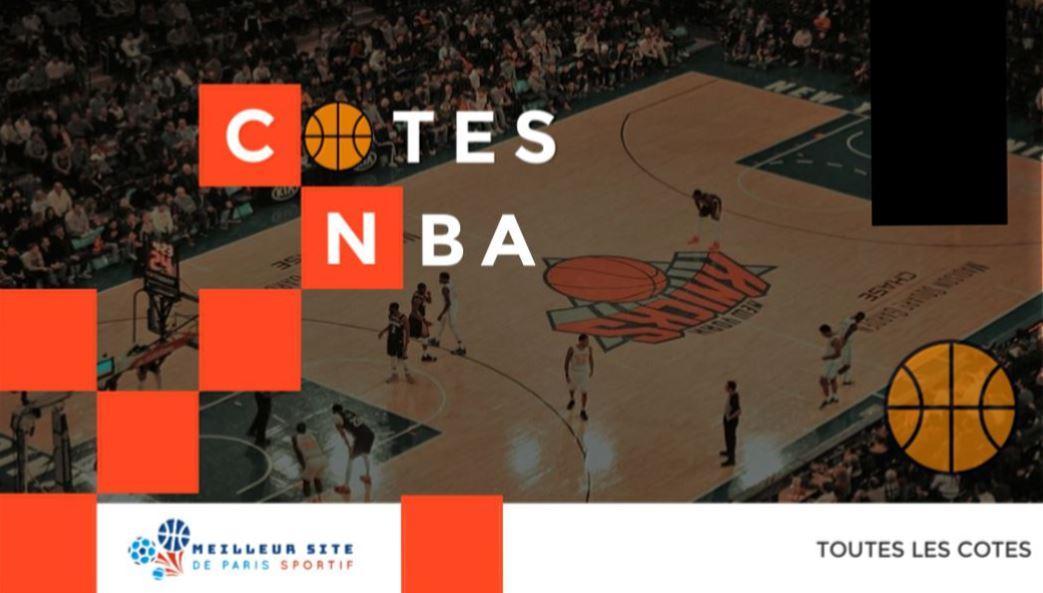 cotes NBA