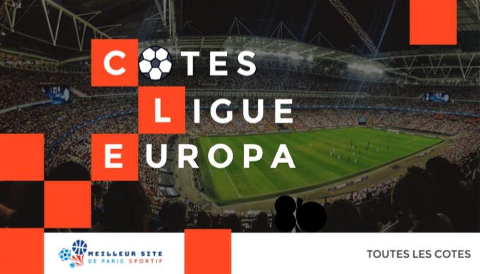cotes ligue europa