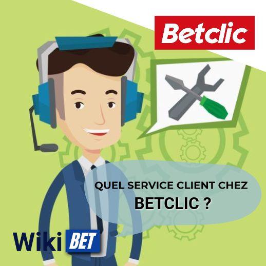 quel service client chez Betclic