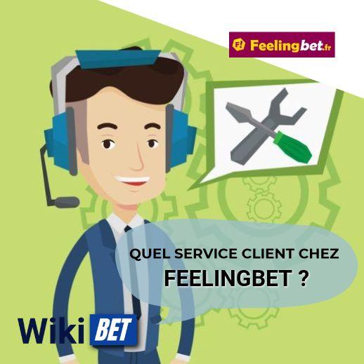 quel service client chez Feelingbet