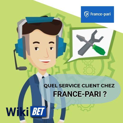 quel service client chez France-pari