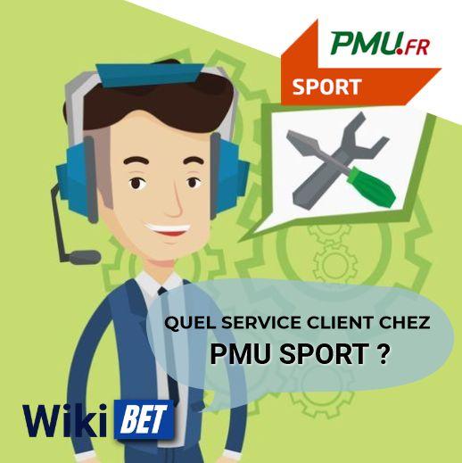quel service client chez PMU Sport