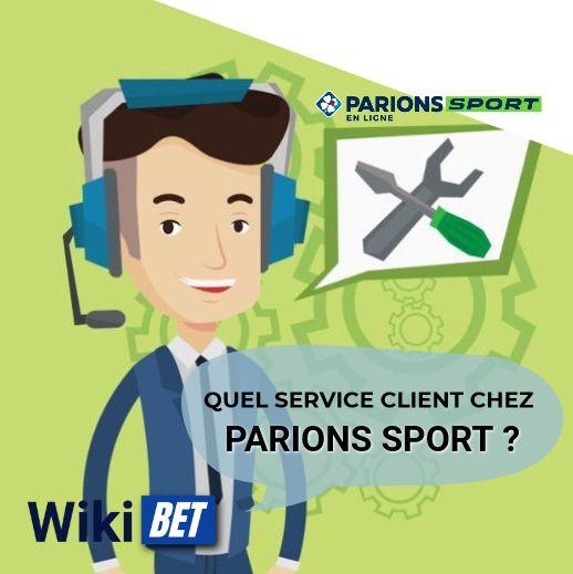 quel service client chez Parions Sport