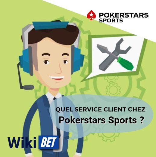 quel service client chez PokerstarsSports