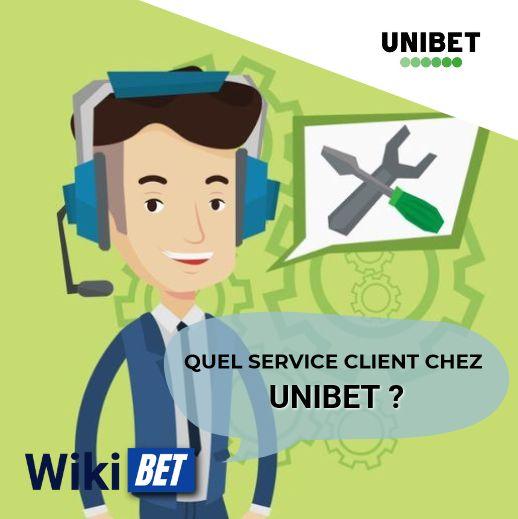 quel service client chez Unibet