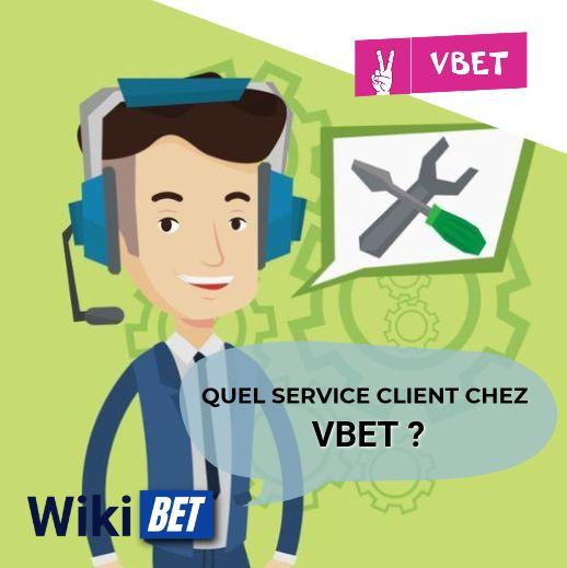 quel service client chez Vbet