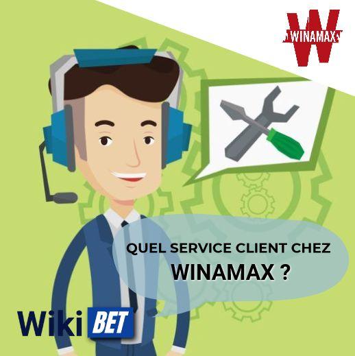 quel service client chez Winamax