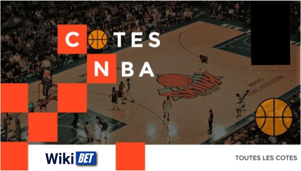 toutes les cotes de la NBA en basket pour comparer et parier Wikibet