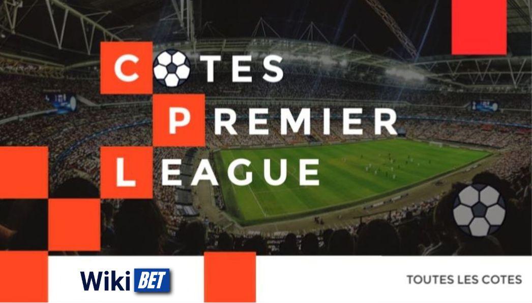 toutes les cotes de la premier league de football anglaise pour comparer et parier Wikibe